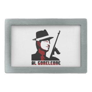 AL GORELEONE RECTANGULAR BELT BUCKLES