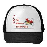 Al gorra de las mujeres