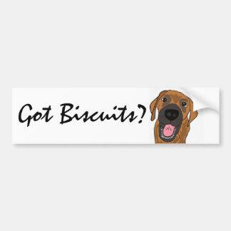 AL- Got Biscuits Dog Bumper Sticker