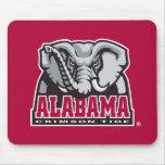 Al grande de la marea carmesí de Alabama Mouse Pad
