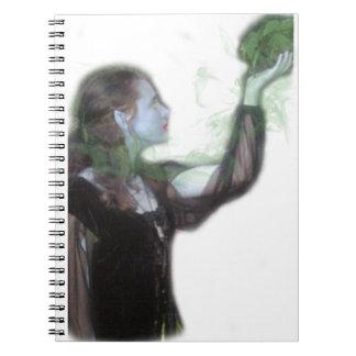 Al hablar con el cuaderno de la naturaleza