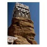 Al-Hajar de Dar, lecho de un río seco Dhar, Repúbl Tarjeta Postal