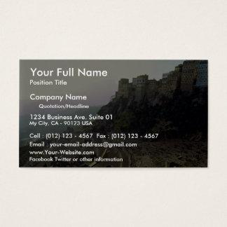Al Hajjarah, Yemen Business Card