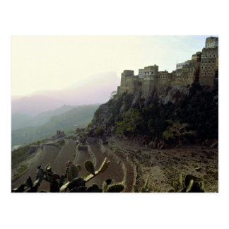 Al Hajjarah, Yemen Postcard
