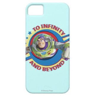 Al infinito y más allá del logotipo Disney iPhone 5 Cárcasas