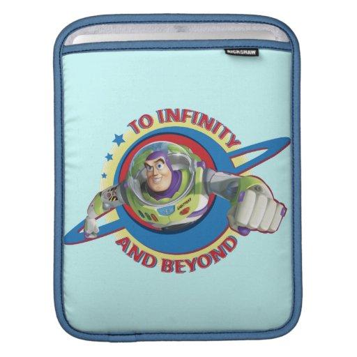 Al infinito y más allá del logotipo Disney Funda Para iPads