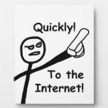 Al Internet 2 Placa Para Mostrar