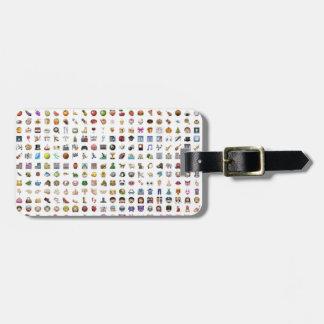 Al iPhone/iOS emojis Luggage Tag