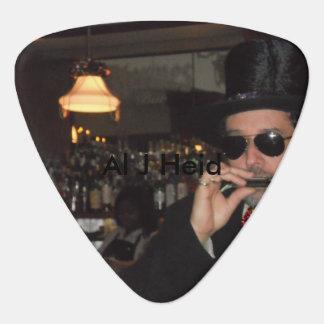 Al J Heid, púas de guitarra Plectro