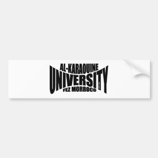 Al Karaouine University Bumper Sticker