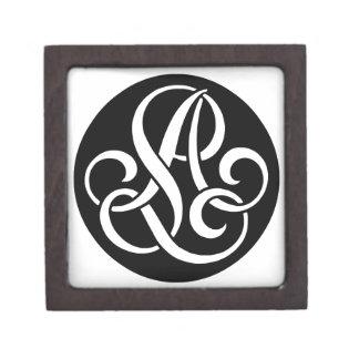 AL-LA-Monogram Keepsake Box