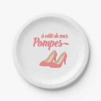 Al lado de mis zapatos - francés de Cote de Mes Platos De Papel