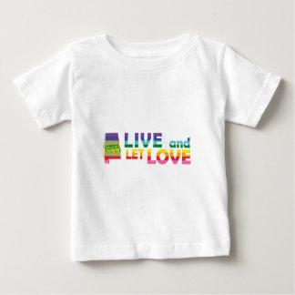 AL Live Let Love Baby T-Shirt