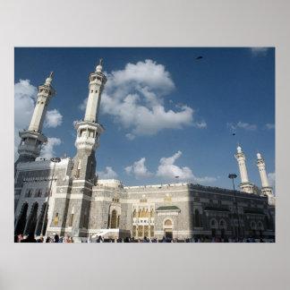 al masjid al haram poster