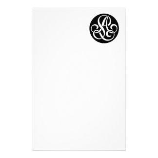 AL Monogram Stationery Paper