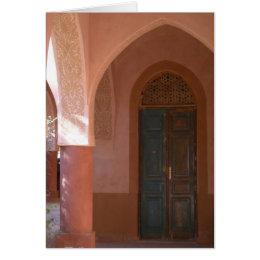 Al Moudira Door Card