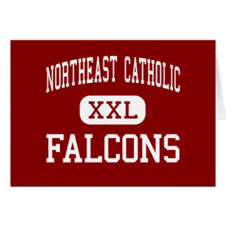 Al noreste católico - Falcons - alto - Philadelphi Felicitaciones