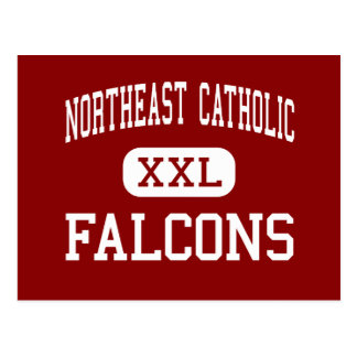 Al noreste católico - Falcons - alto - Philadelphi Tarjetas Postales