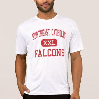 Al noreste católico - Falcons - alto - Remera
