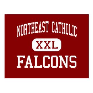 Al noreste católico - Falcons - alto - Tarjetas Postales