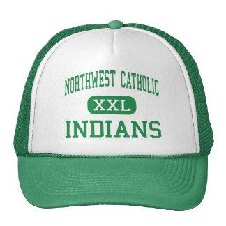 Al noroeste católico - indios - Hartford del oeste Gorra