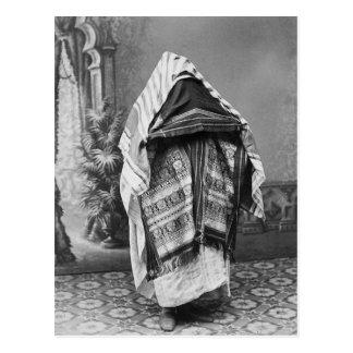 Al norte africano en el traje - foto 1880 del vint postales