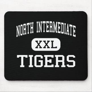 Al norte intermedio - tigres - alto - flecha rota tapete de raton