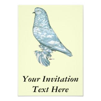 """Al oeste del vaso de Inglaterra:  Copia moteada de Invitación 5"""" X 7"""""""