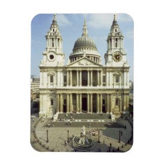Al oeste frente de la catedral de San Pablo, diseñ Imanes De Vinilo