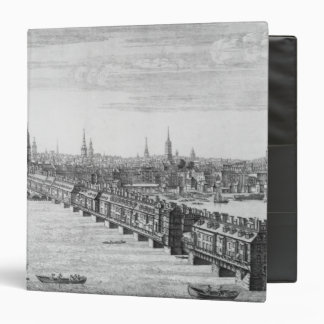 """Al oeste frente del puente de Londres, 1749 Carpeta 1 1/2"""""""