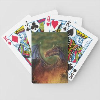 ¡al rescate dragón de la fantasía baraja de cartas