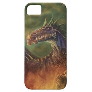 ¡al rescate! dragón de la fantasía funda para iPhone 5 barely there