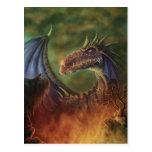 ¡al rescate! postal del arte de la fantasía