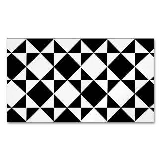 ¡AL REVÉS! (un modelo negro y blanco) ~.png Tarjetas De Visita Magnéticas (paquete De 25)