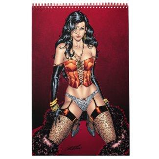 Al Rio 12 Sexy Pin-ups Portfolio! NO DATES calendar