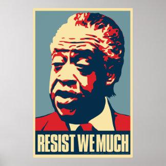 """Al Sharpton """"Resist we much"""" Obama Parody Poster"""