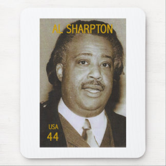 Al Sharpton stamp Mouse Pad