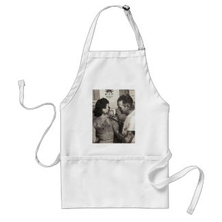 Al Shieferly tattoos Rose Adult Apron