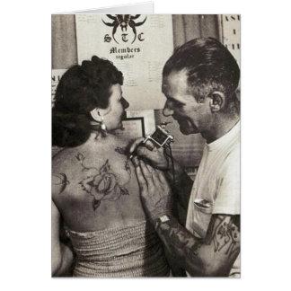 Al Shieferly tattoos Rose Card