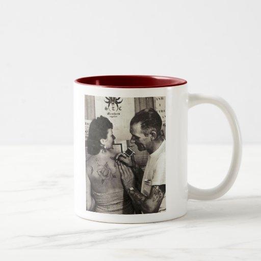 Al Shieferly tattoos Rose Coffee Mug