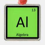 Al - símbolo de la tabla periódica de la química d