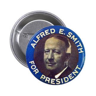 Al Smith - botón Pin Redondo De 2 Pulgadas