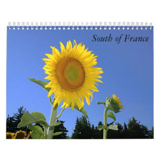 Al sur de Francia Calendarios De Pared