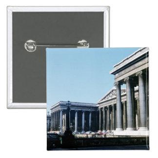 Al sur frente de British Museum Pin Cuadrada 5 Cm