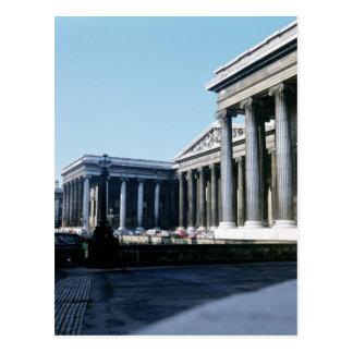 Al sur frente de British Museum Tarjeta Postal