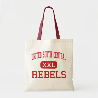 Al sur unida central - rebeldes - alto - pozos bolsa tela barata