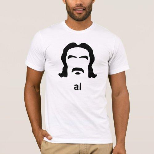 Al Swearengen Black Hirsute T_Shirt