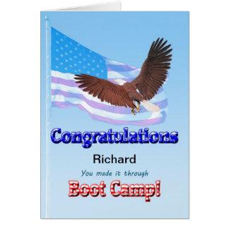 Al terminar Boot Camp Tarjeta De Felicitación
