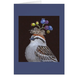 Al the chipping sparrow card
