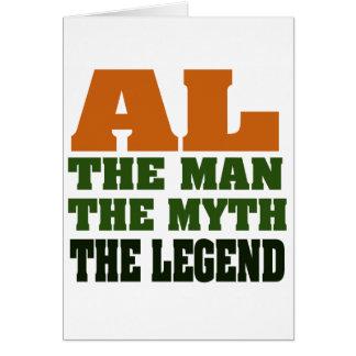 Al - the Man, the Myth, the Legend! Cards
